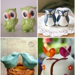 Wondrous Weddings: Bird & Owl Toppers