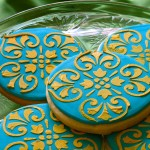 Damask Delight - Cookies & Cake with Whipped Bakeshop