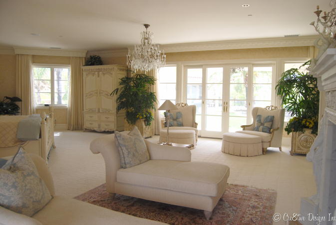 Masterbedroom Suite sitting area