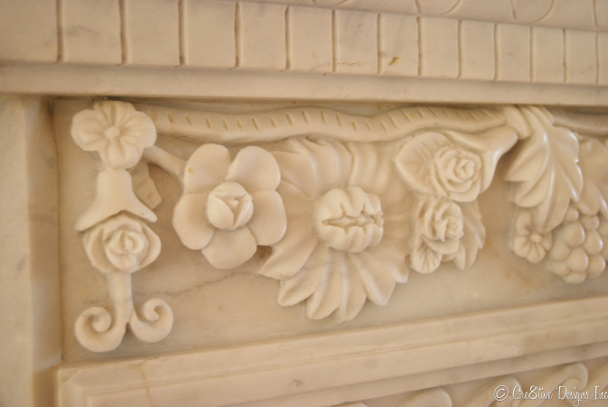Masterbedroom Suite fireplace detail
