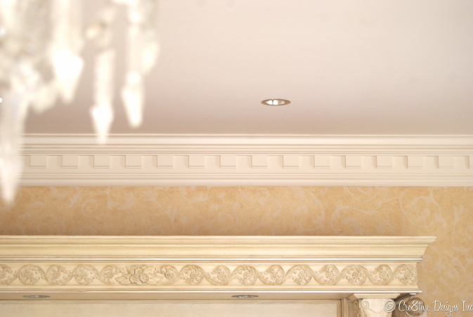 Masterbedroom Suite molding detail