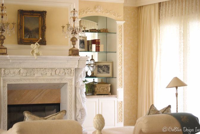 Masterbedroom Suite Fireplace