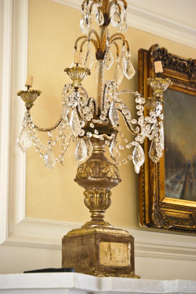 Masterbedroom Suite vintage candelabras