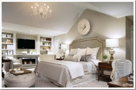Candice Olson's Master bedroom makeover