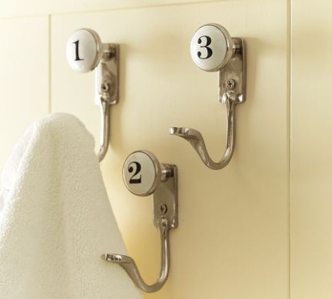 Pottery Barn Ceramic Hooks
