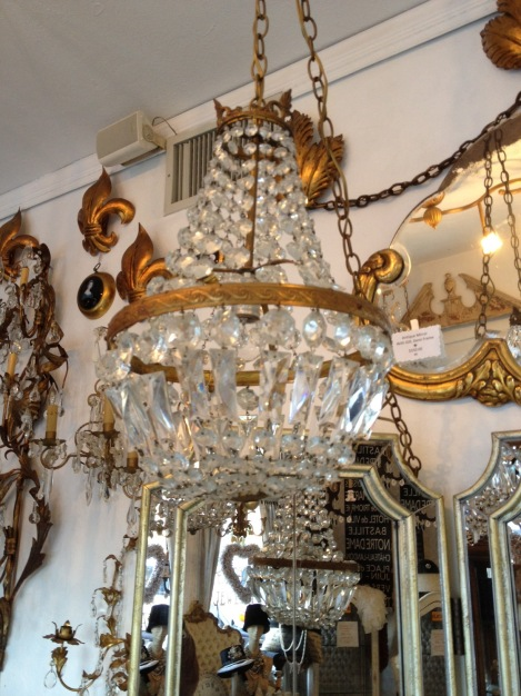 vintage empire chandelier
