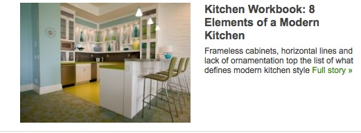 Houzz feature