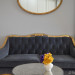 Tufted settee gets a new home