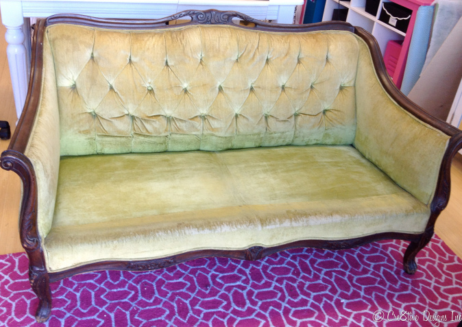 Estate sale settee