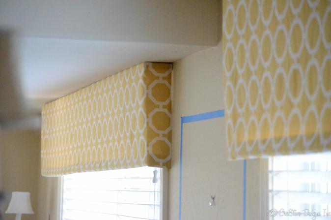 Flat panel done in Platueau/lemon