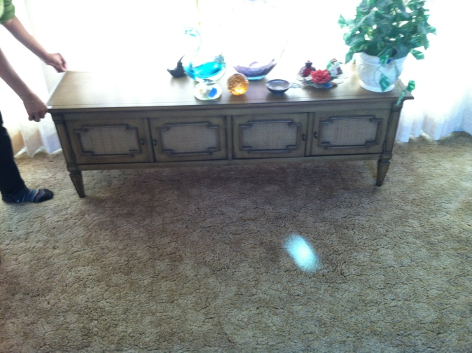 Estate sale bench