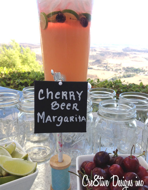Cherry Beer Margarita