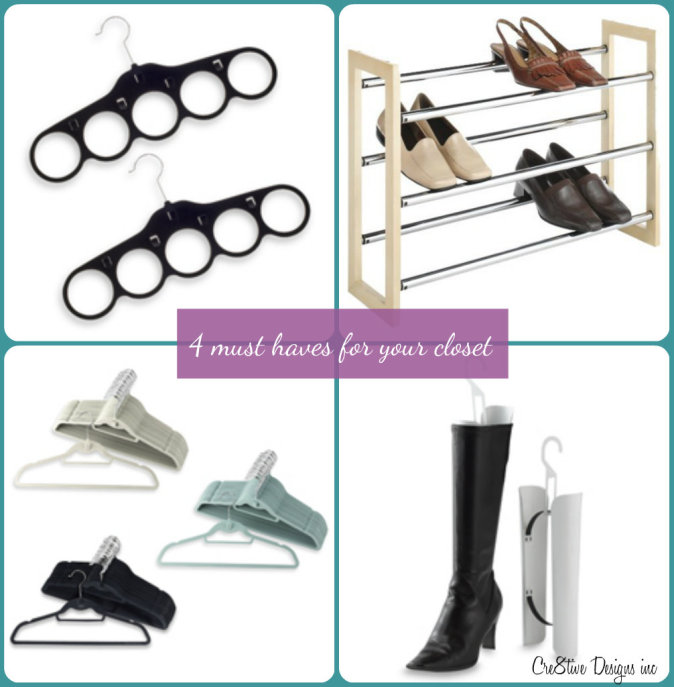 4 must haves for your closet