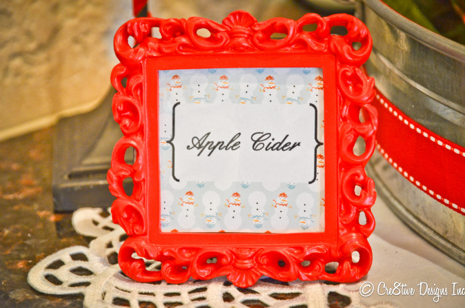 Apple cider frame 
