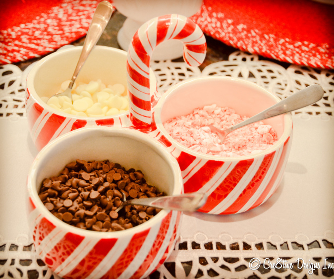 Hot Cocoa Bar fixings