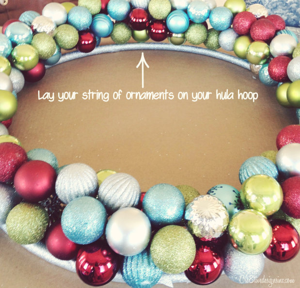 Ornament hula hoop