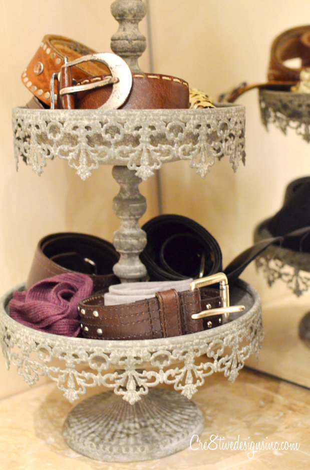 Tiered Stand belt holder