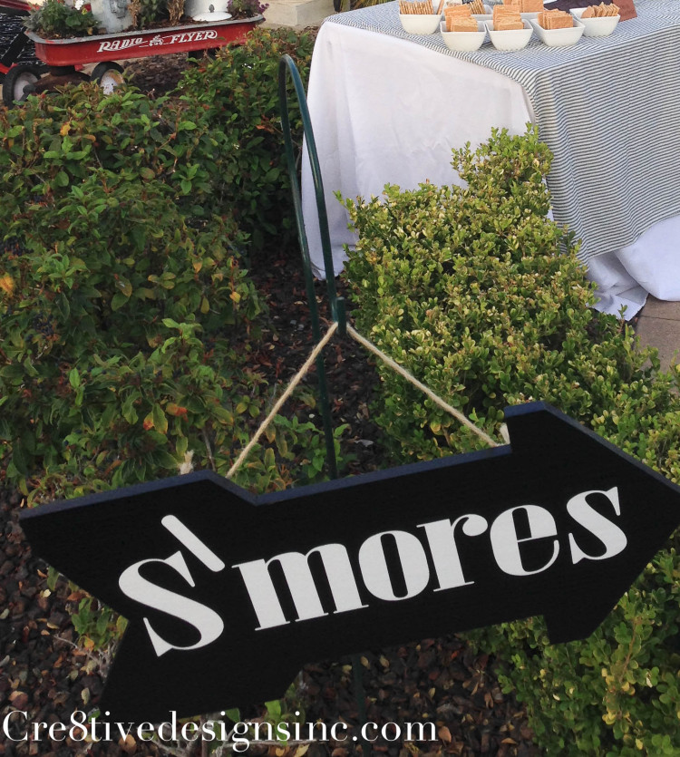 S'mores bar with flavored marshmallows-2