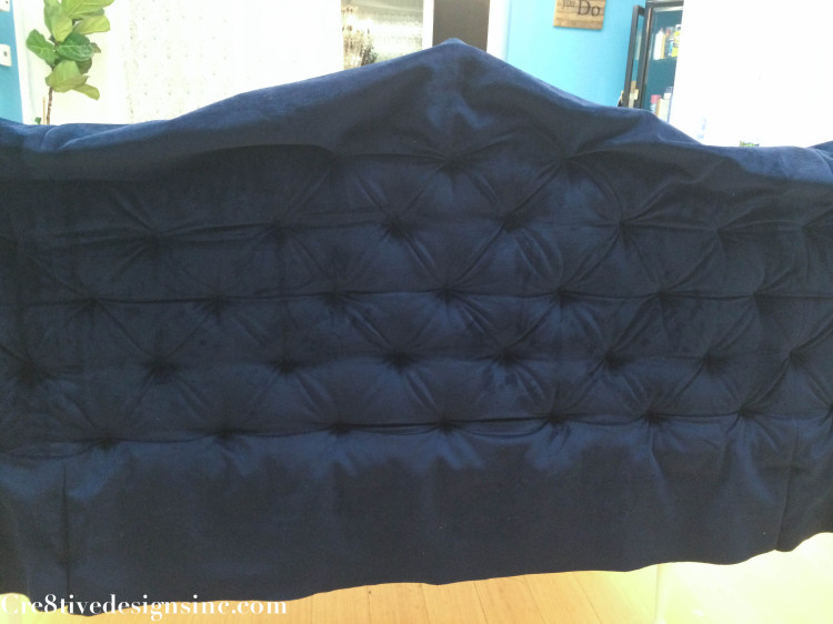 Blue tufted headboard-9