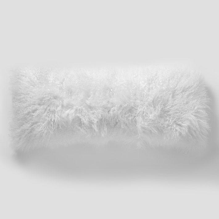 Lambs wool pillow