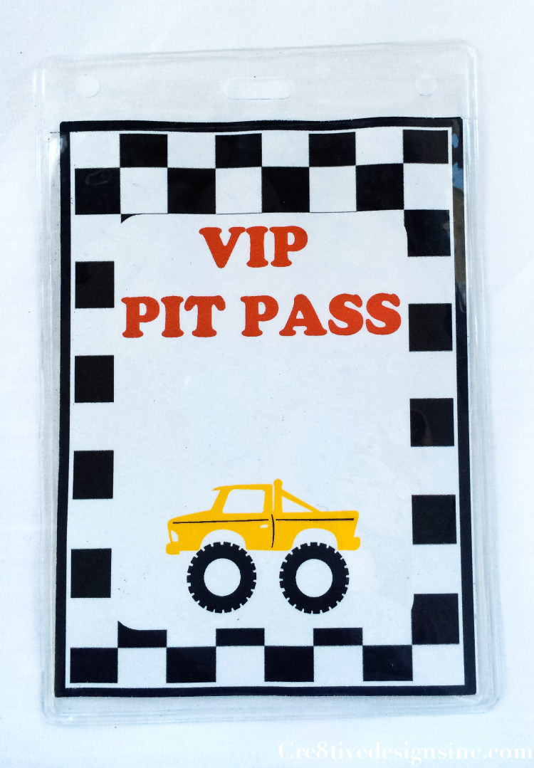 Monster Truck Party VIP Pit Pass