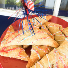patriotic turnovers