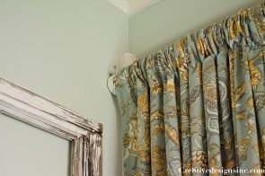 Using drapes for a shower curtain-2-2