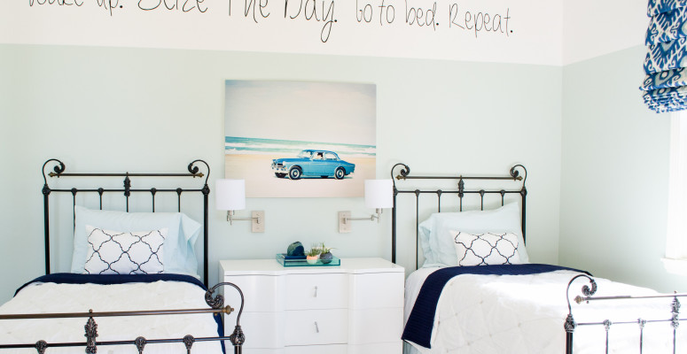 A guest bedroom makeover