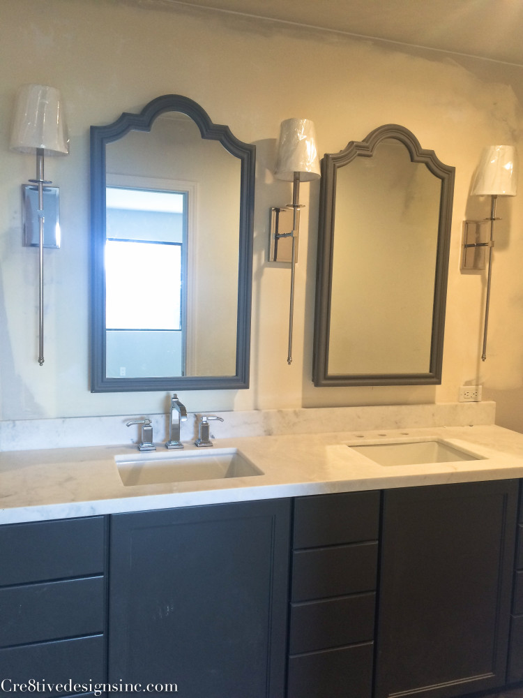 Pre-fab bathroom countertops