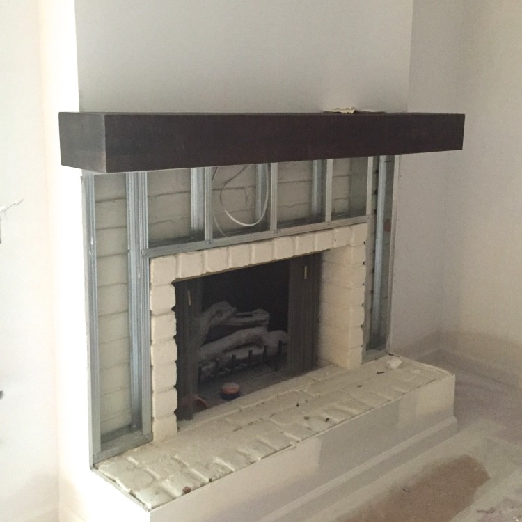Fireplace framing