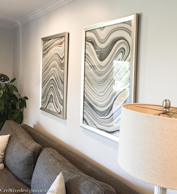 Marble artwork