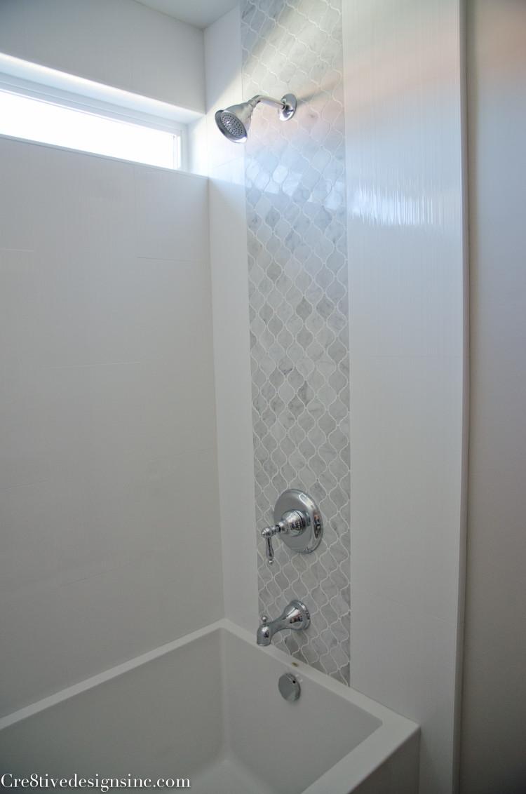 marble mosaic plumbing wall tile insert