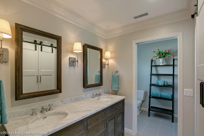 restoration hardware double shutter vanity and medicine cabinets