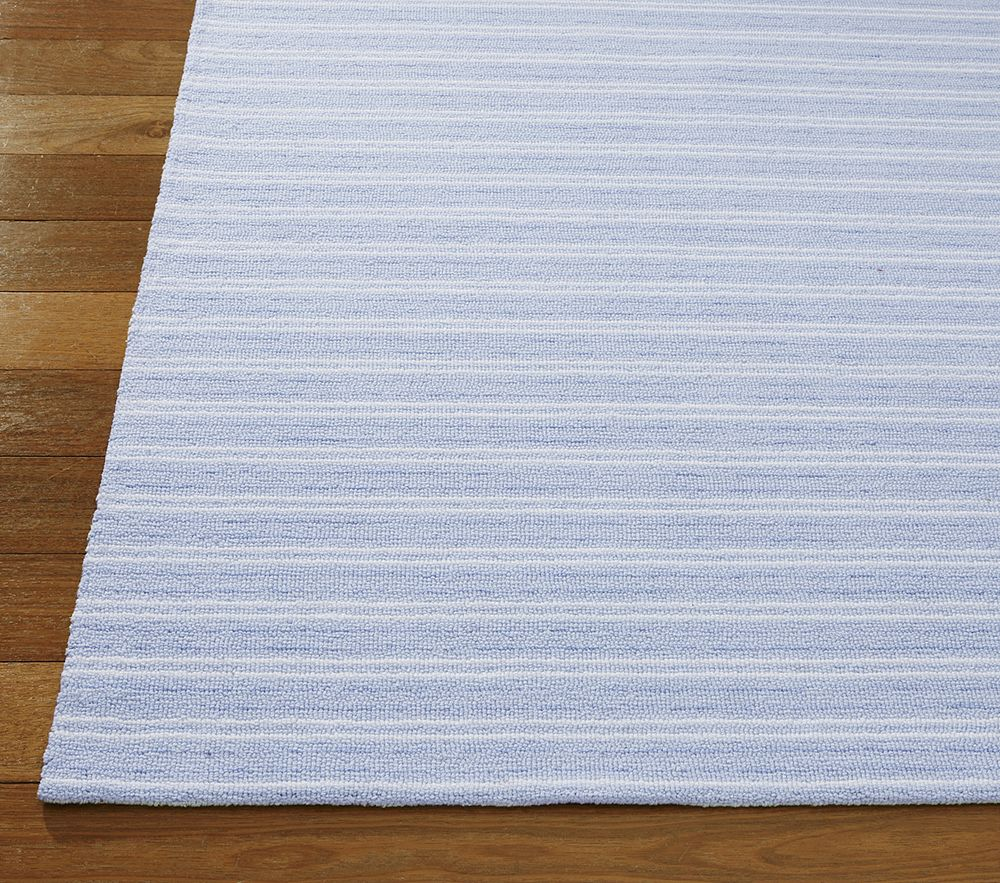 blue white stripe rug  rugs ideas - blue white stripe rug rugs imgl jpg