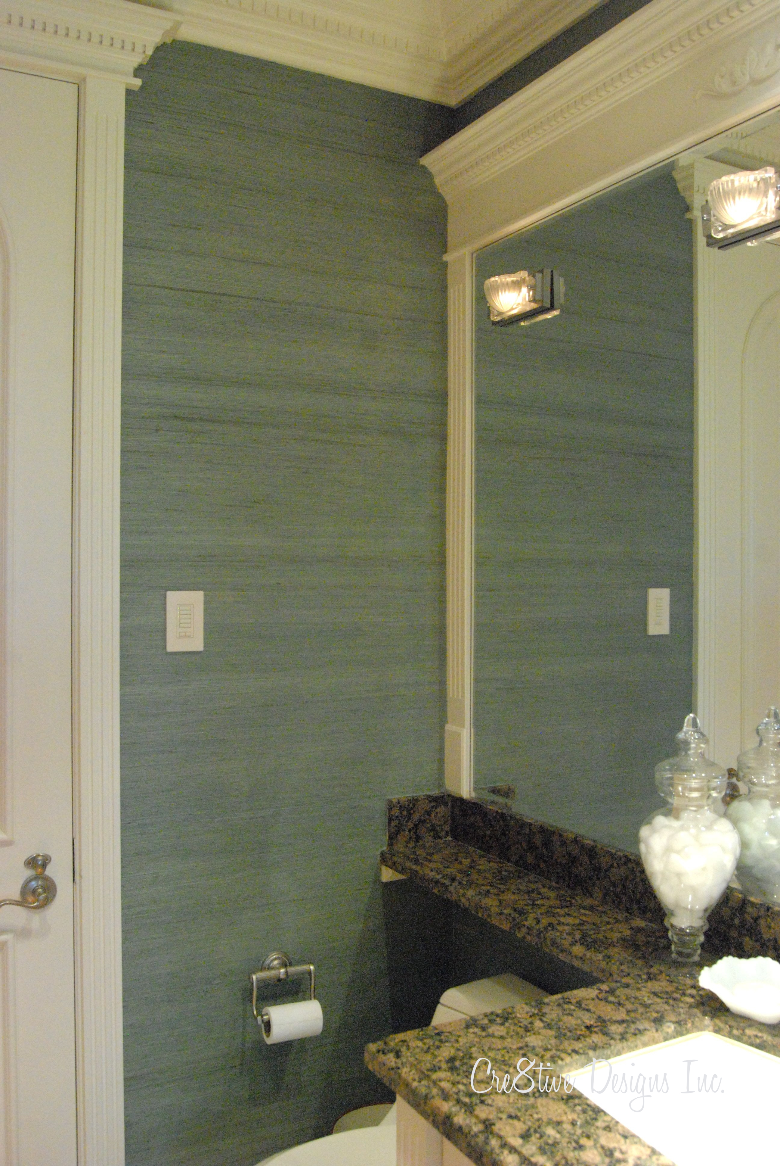 Wallpaper For Bathrooms Wall Covering : Can i use grasscloth wallpaper in a bathroom
