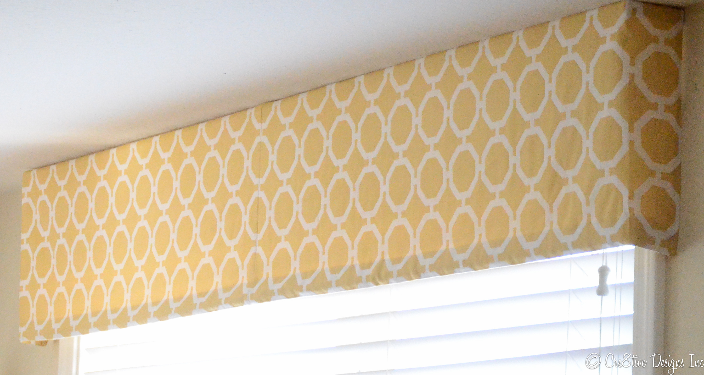 How to make a tailored valance - Cre8tive Designs Inc.