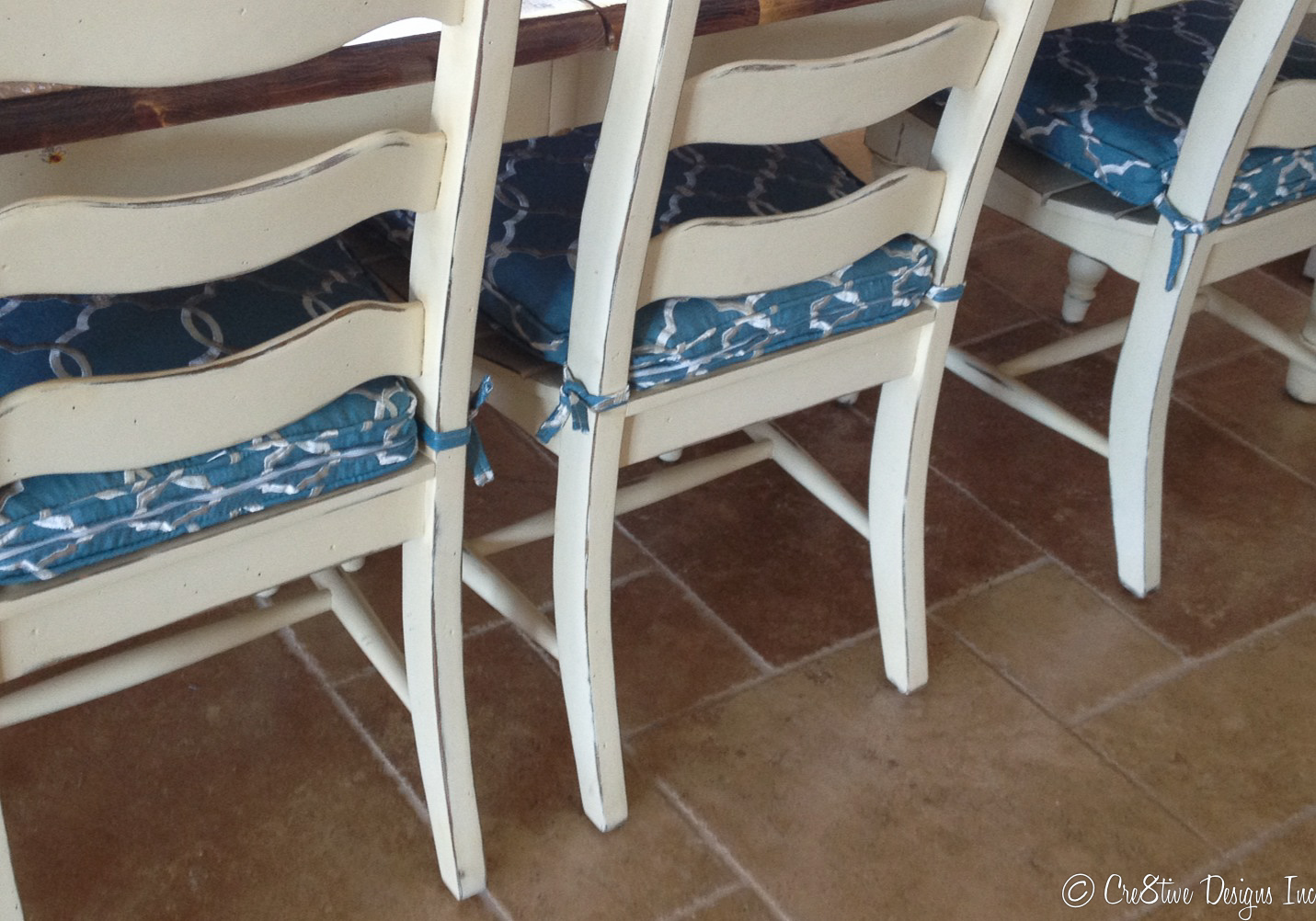 Dining Room Chairs With Charlotte Moss Fabric
