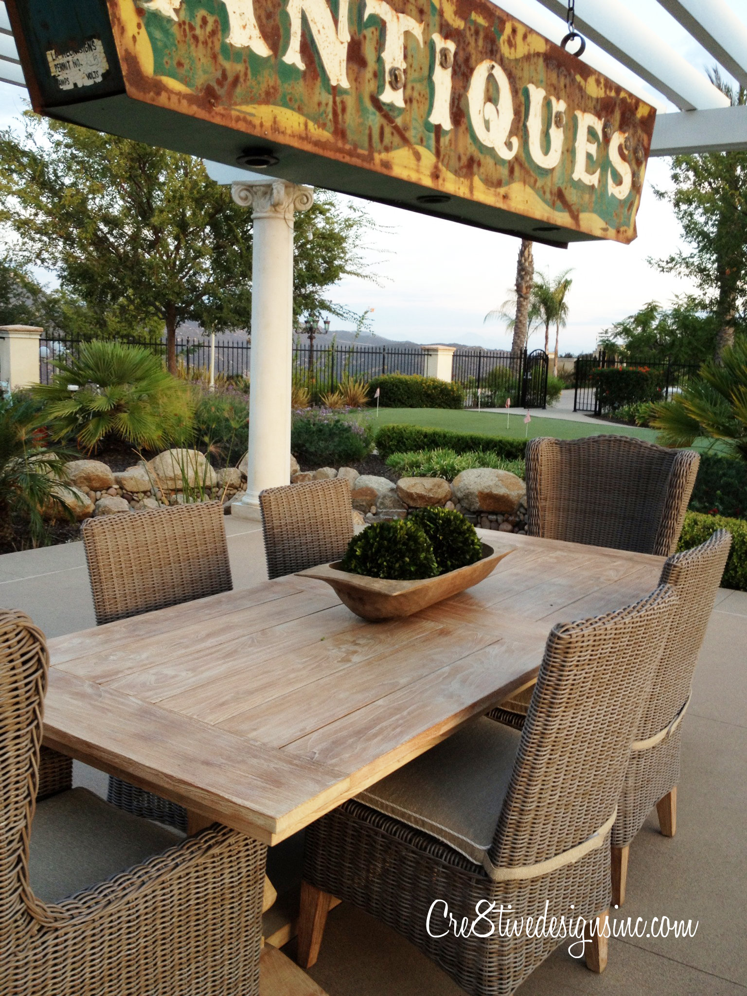 outdoor furniture and accessories at great prices cre8tive i noticed ballard design has one similar this year for about 1 000 less ballard designs trestle table