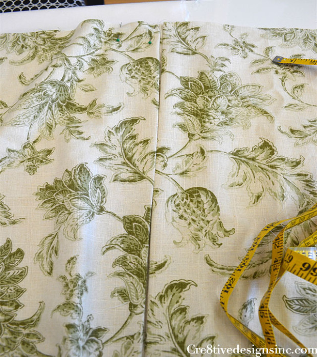 How To Make A Relaxed Roman Valance Cre8tive Designs Inc