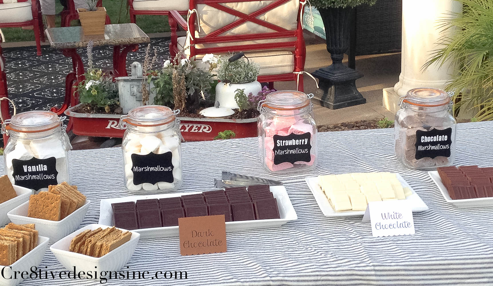 S Mores Bar Root Beer Float Station And More Cre8tive Designs Inc