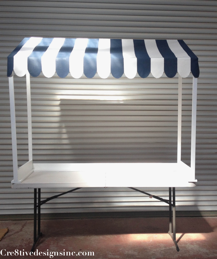 How To Make A Table Top Canopy Cre8tive Designs Inc