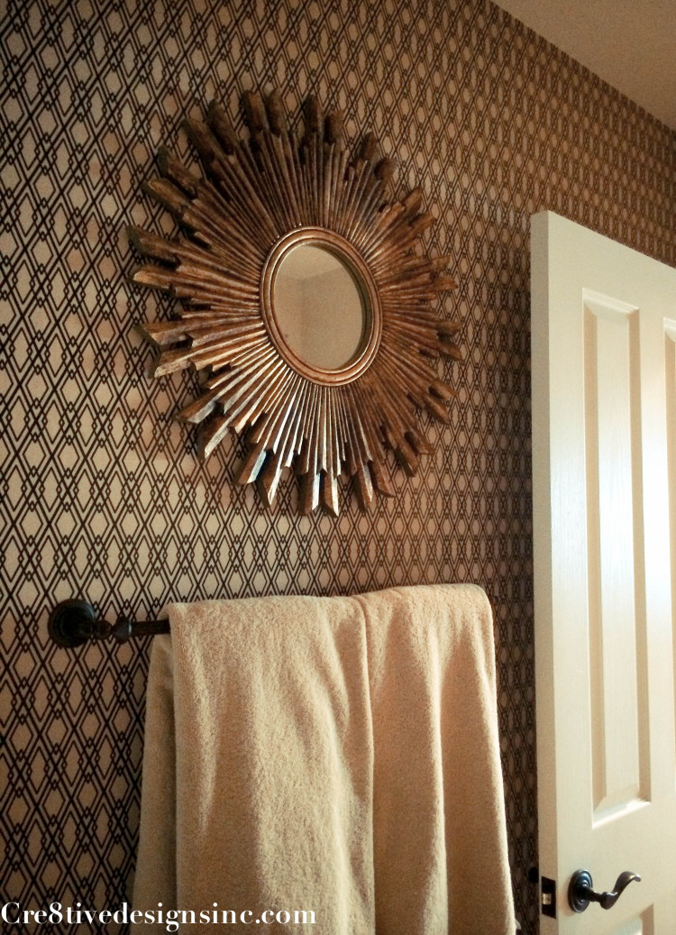 using contact paper to wallpaper a wall cre8tive designs