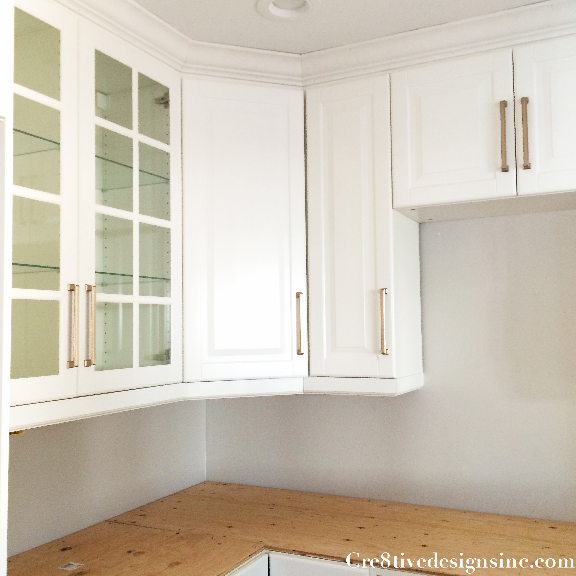 How To Put Glass In Kitchen Cabinet Doors: Kitchen Remodel Using Ikea Cabinets