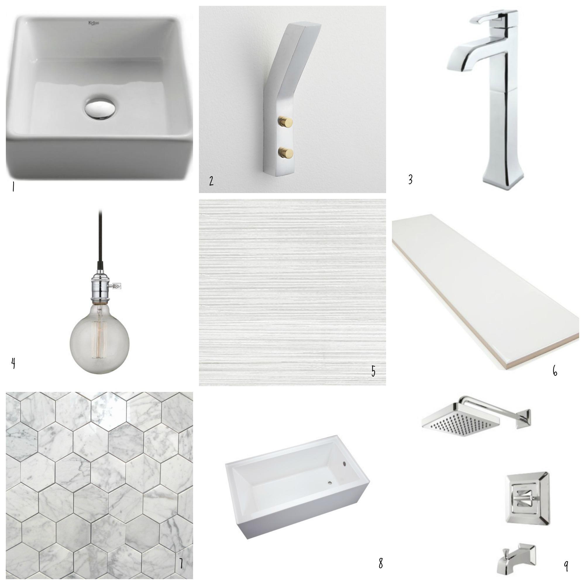 Mid Century Modern Bathroom - Cre8tive Designs Inc.
