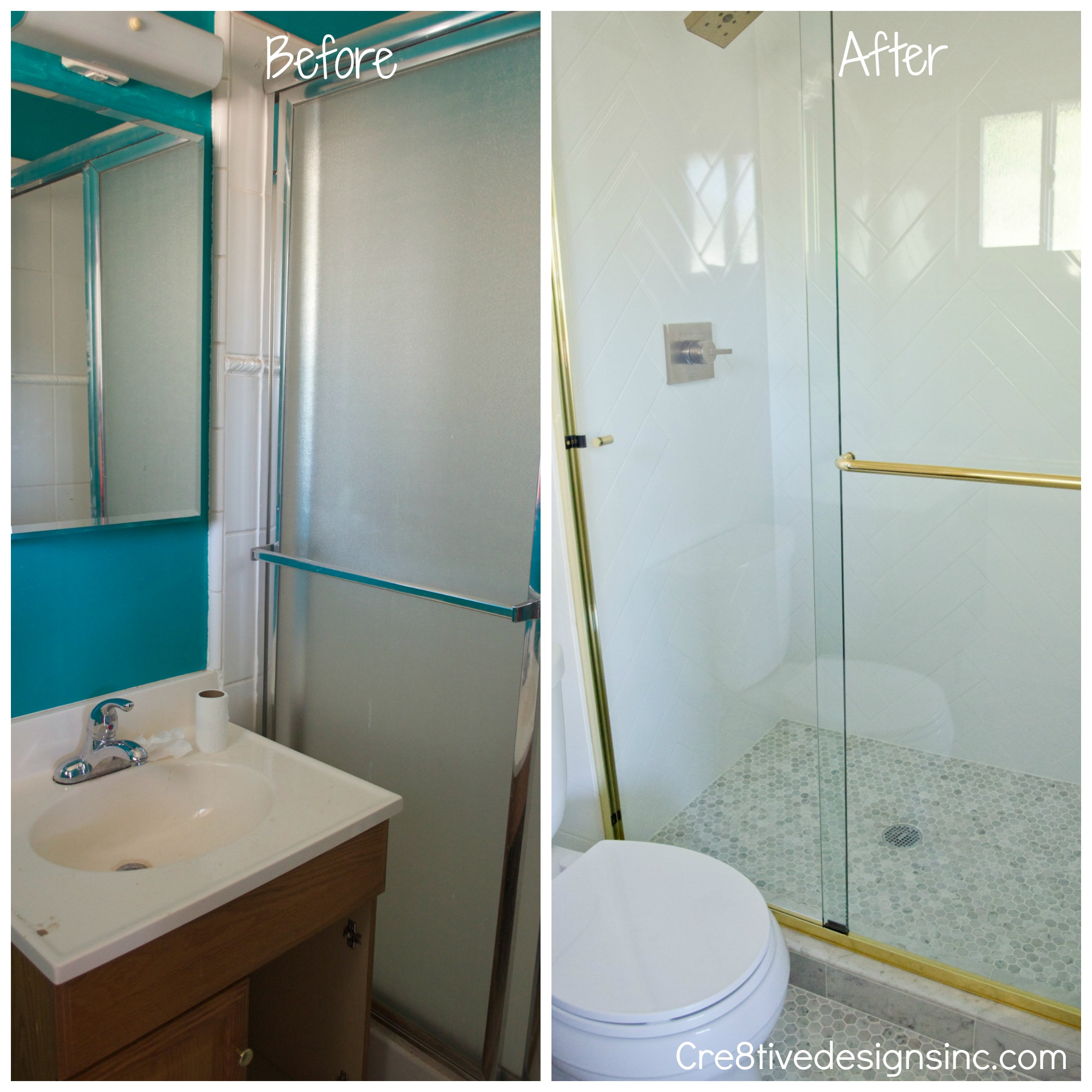 Tiny Bathroom Before And After