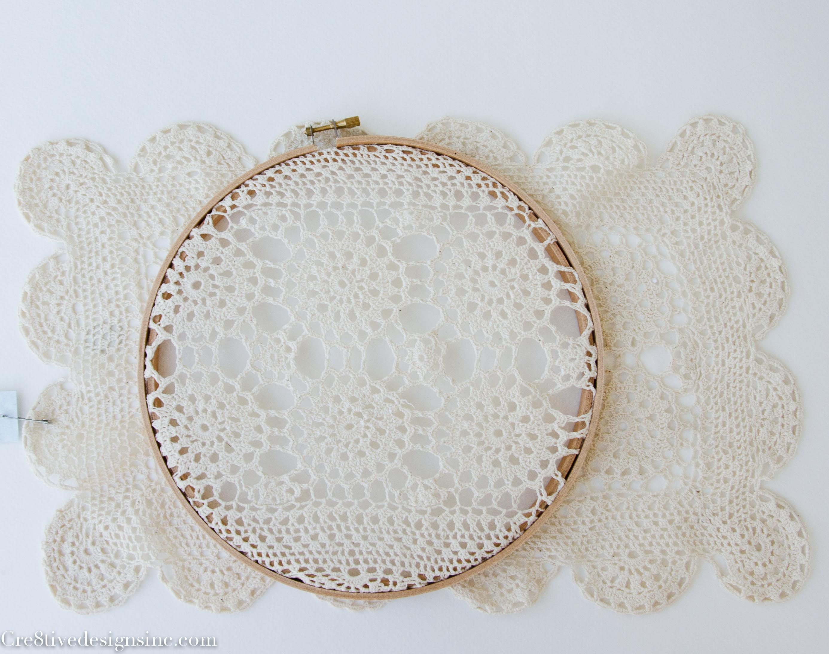 Lace And Crochet Embroidery Hoops  Cre8tive Designs Inc