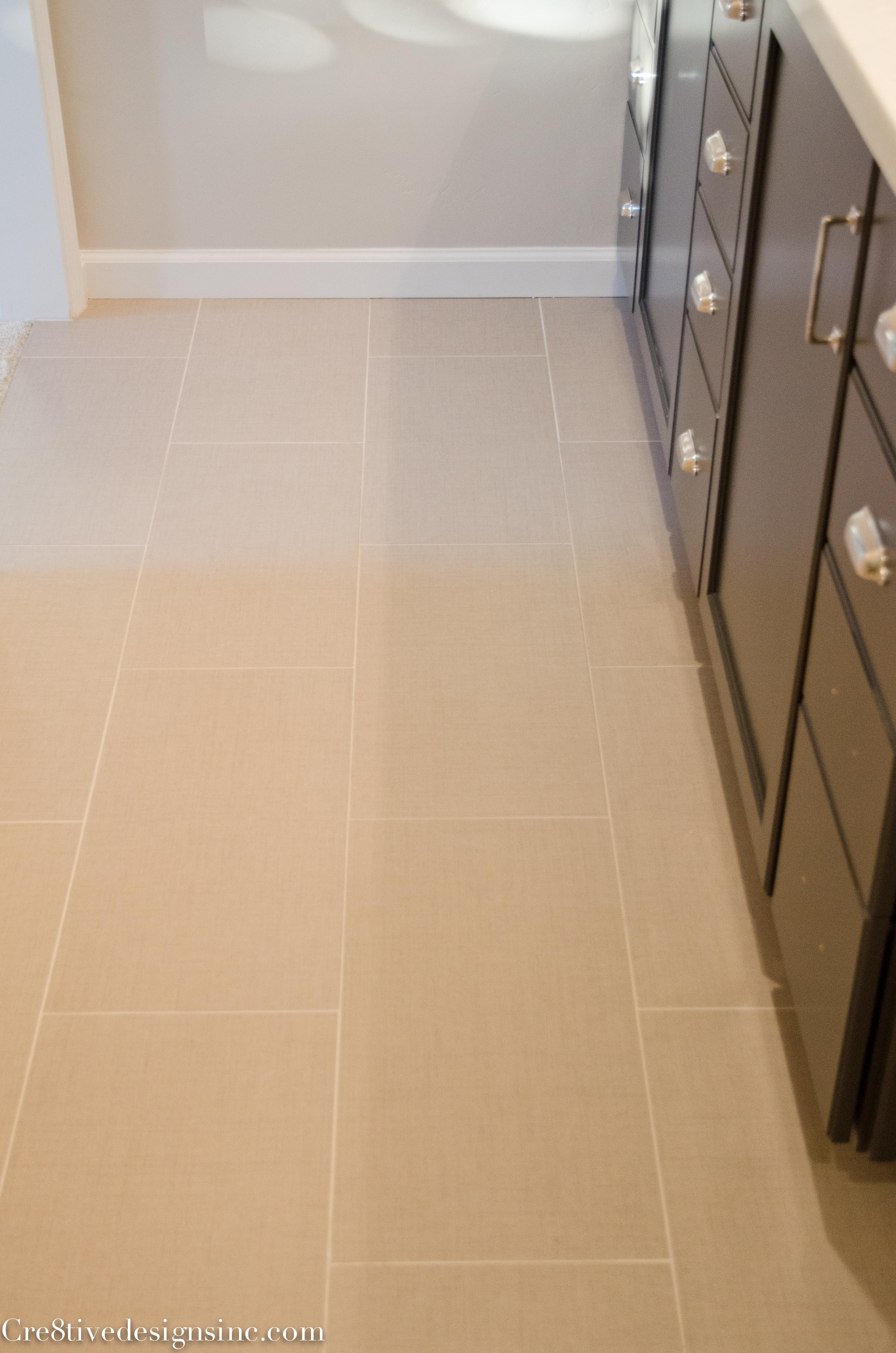 Unique linen look tile